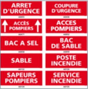 Signalisation sécurité et prévention incendie