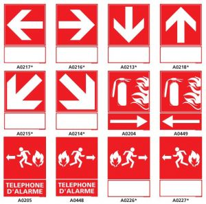 Panneaux de sécurité incendie