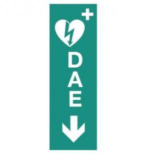 Panneau défibrillateur automatisé externe (B0354)
