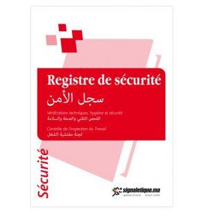 Registre de sécurité (MARM004)