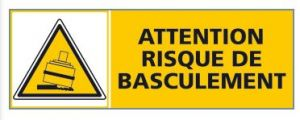 ATTENTION RISQUE DE BASCULEMENT (C0301)