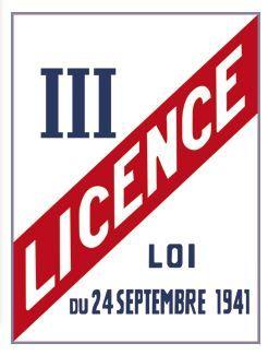 LICENCE III (G0869)