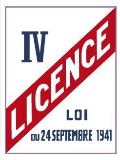 LICENCE IV (G0835)