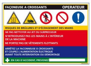 Fiche de Poste Façonneuse à Croissants (C0823)