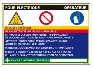 Fiche de Poste Four électrique (C0842)