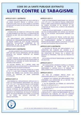 LUTTE CONTRE LE TABAGISME (A0313)