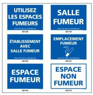 ESPACE FUMEUR (salle, emplacement, etc.)