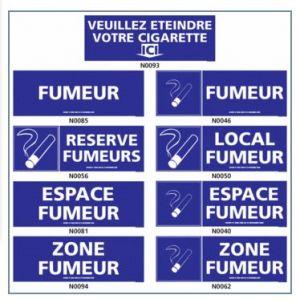 ESPACE FUMEUR ((local, zone, etc.)