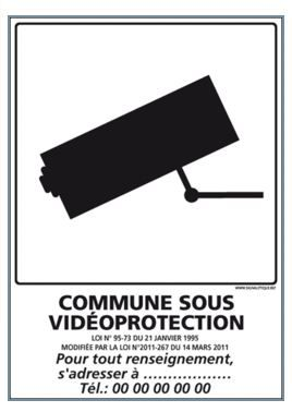 COMMUNE SOUS VIDEOPROTECTION (I0716)