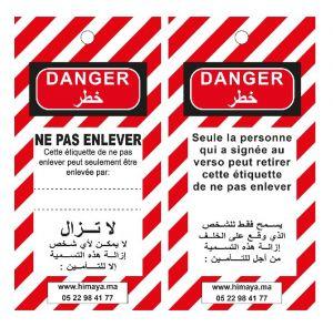 Etiquette Français/Arabe