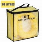 Kit anti pollution chimique 20 litres