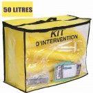 Kit anti pollution chimique 50 L