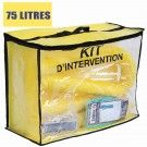 Kit anti pollution chimique 75 l