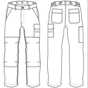 Pantalon THOR NAVY