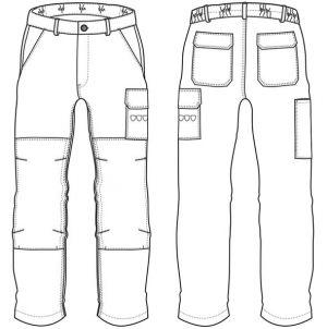 Pantalon STELLER NAVY