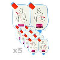 5 Paires d'électrodes adulte de Formation (DDP-105-TR)
