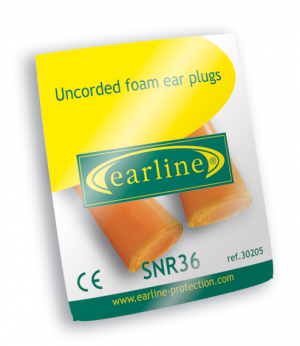 Bouchons EARLINE orange 30205