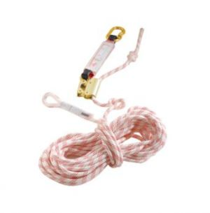 Antichute mobile stop corde 10 mètres + absorbeur d'énergie 71353
