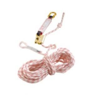 Antichute mobile stop corde 20 mètres + absorbeur d'énergie 71354