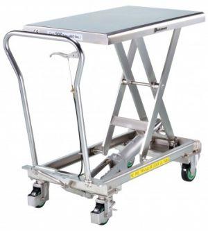 Table élévatrice INOX BISHAMON 500 kg