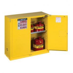 Armoire de sécurité pour produits inflammables 114L