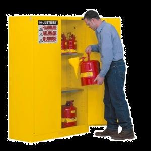 Armoire de sécurité pour produits inflammables 170L