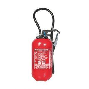Extincteur 6 litres eau + additif ABF Pression Auxiliaire