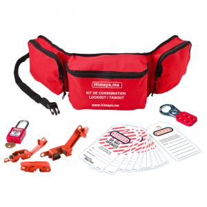 Kit de consignation électrique 01D - Sac Personnel